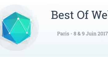 Retour sur la Best of Web 2017