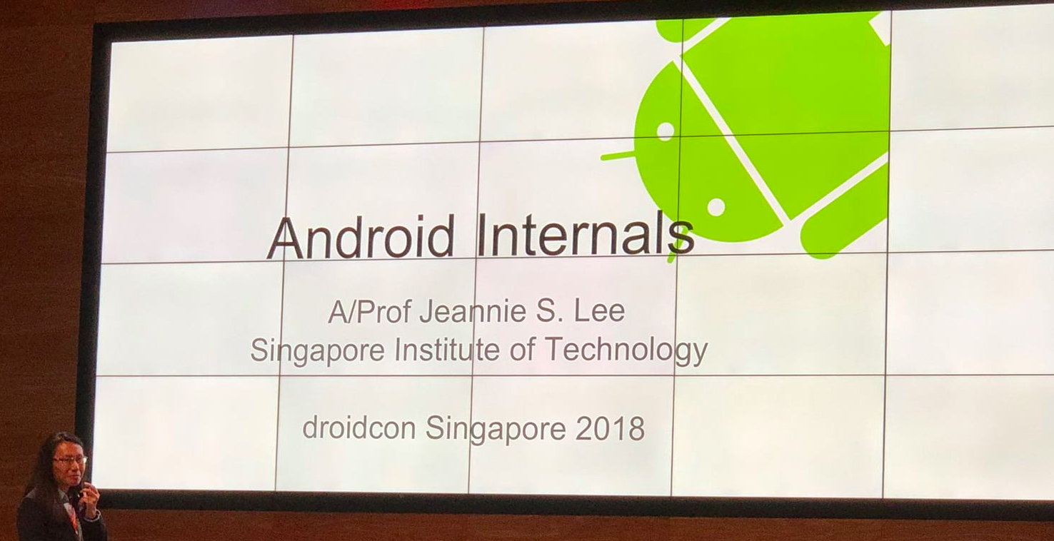 Zenika at Singapore's first DroidCon