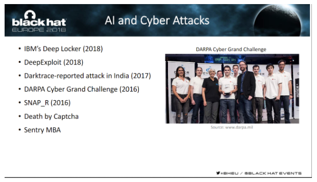 AI cyber attacks
