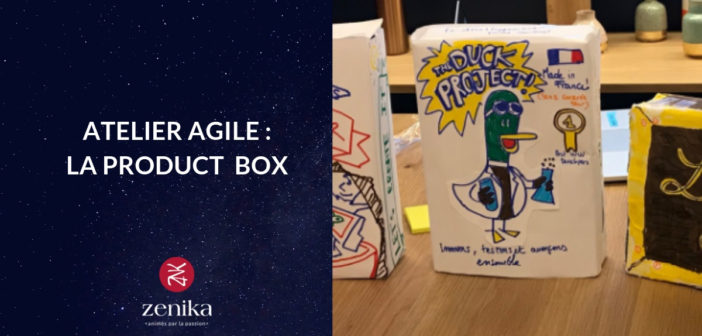 Atelier Agile : La Product box