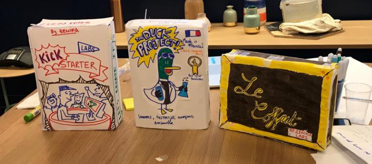 Atelier agile product box