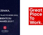 Zenika, 1ère Great Place to Work 2018, absente du palmarès 2019 ?