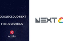 Blog Zenika - Google cloud next session
