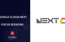 Blog Zenika - Google cloud next session