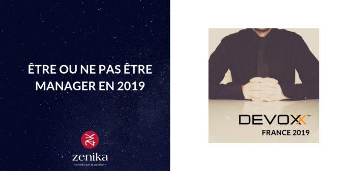 Blog Zenika - Manager en 2019