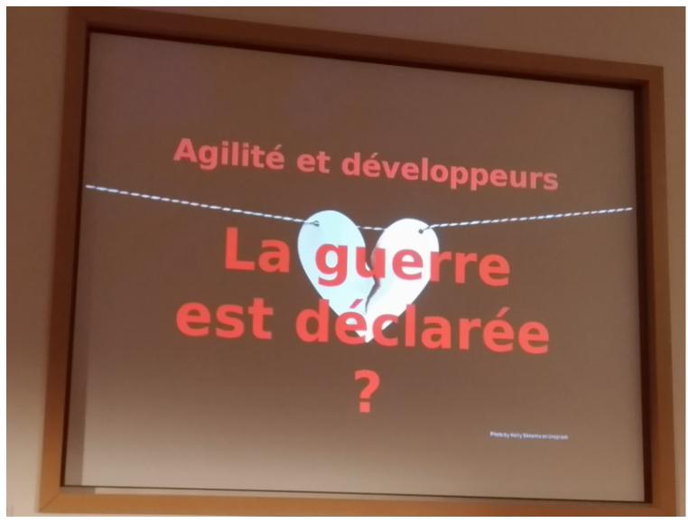BzhCamp - Agilite et developpeurs