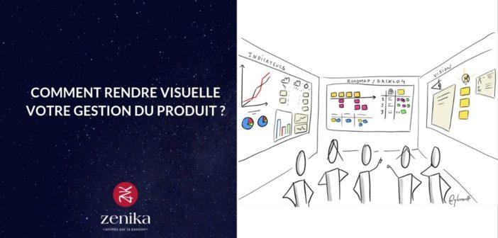 Comment rendre visuelle votre gestion du produit ?