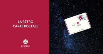 La rétro carte postale