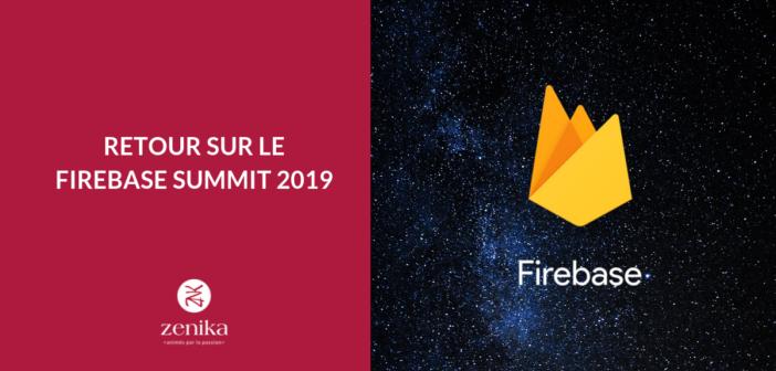 Retour sur le Firebase Summit 2019