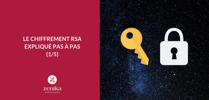 Le chiffrement RSA expliqué pas à pas [1/5]