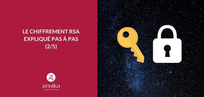 Le chiffrement RSA expliqué pas à pas [2/5]